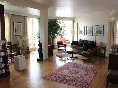 Photo for Eiffel Tower Penthouse Apt With Terrasses, Sleeps 4 People