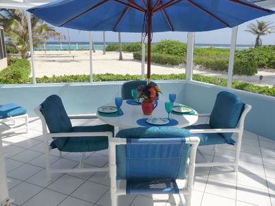 Photo for THE HAVEN AT CAYMAN KAI SEA LODGE--PEACEFUL, BEAUTIFUL OCEANFRONT