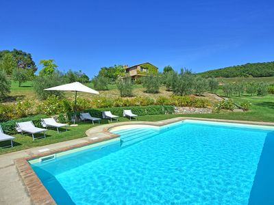 Photo for Stunning villa with private swimming pool offering style and panoramic views