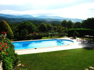 Photo for Romantic villa set in beautiful countryside with exceptional mountain views