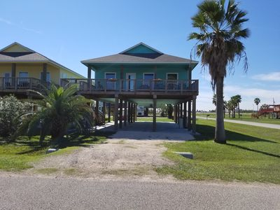 Photo for Bare Foot Retreat - Prime beach home within walking distance from park/jetty