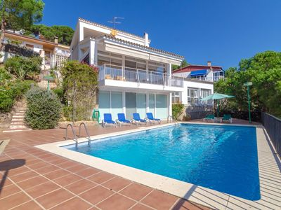 Photo for Club Villamar - A beautiful villa with a fairy tale like garden and private pool, near the beach!