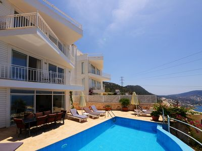 Photo for Ideal Villa for Large Families or Groups with Spectacular Sea Views, Near Centre