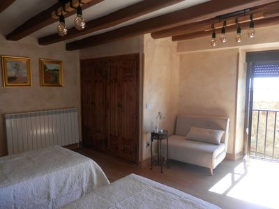 Photo for 3BR Cottage Vacation Rental in Ujué, Navarra