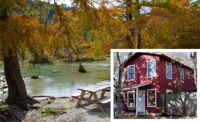 Photo for Designer/Musician's Adorable Wimberley Cottage **Blanco River Access**