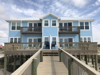 Gulf Front 3 Bedroom 3.5 Bath Duplex in Fort Morgan