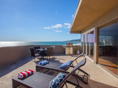 Photo for Private Oceanfront Vacation Rental at Duke's Malibu