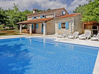 Photo for Holiday house Pićanci * secluded location, 3800 m2 garden, private pool