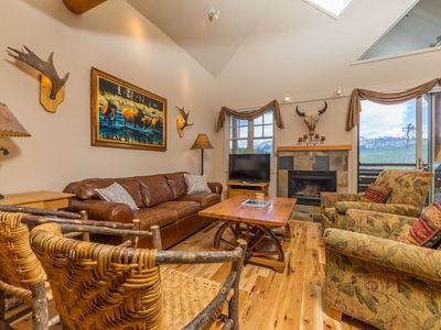 Photo for Stay Montana 2 Day Cancel Saddleridge - Ski-in/Out, Private Hot Tub & Dog Friendly!