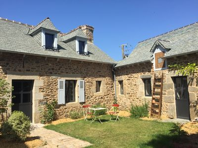 Photo for The dream of Jules - Charming holiday home in Brittany 500 m from the sea