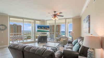 Photo for P5-1507 - 3B Condo Gulf and Bay Views!