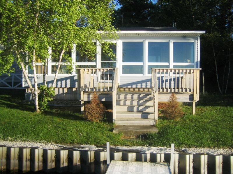 lake rentals parry vacation ca ontario rent treetop silver homeaway tranquility rental sound for in br cottage