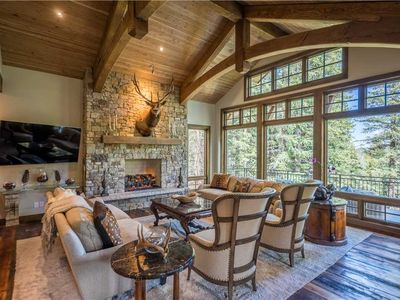 Photo for Impeccable luxury home; largest true ski-in/ski-out; ideal for large family or wedding groups