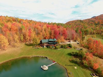 Photo for Expansive Views of Hunger Mountain, Private Pond, 15 acres