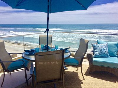 Photo for Luxury Spacious Oceanfront Villa, Spa Bath, Gourmet Chefs Kitchen, Deck, A