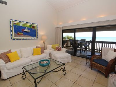 Photo for Shipwatch B302-Beach Front Views from Terrace with Luxurious Interior & Loft!