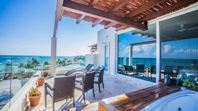 Photo for A 3 bedroom penthouse property with spectacular ocean views!