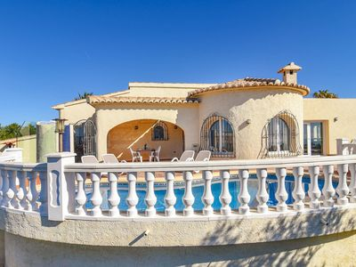 Photo for Charming holiday villa with private swimming pool and unique view in Benitachell