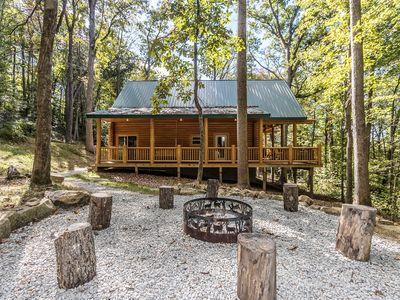 Photo for Hemlock Haven Cabin - Perfect escape for 1-10 guests!!!