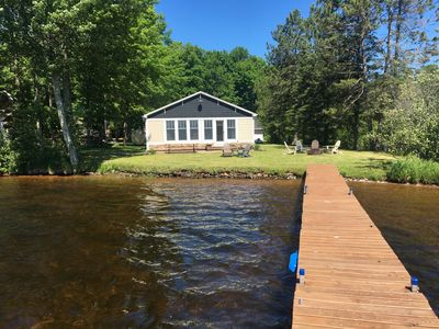 Photo for Private, Renovated Lakefront Cottage, Lake Namakagon, Chequamegon Nat. Forest