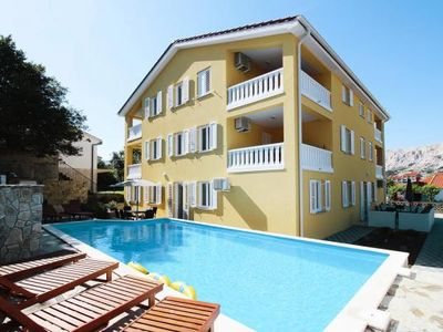 Photo for Apartments im Haus Gorica, Baska  in Krk - 5 persons, 2 bedrooms