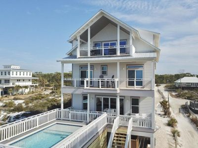 Photo for Gulf Front!  Private Heated Pool!  Elevator!  3 King Masters!