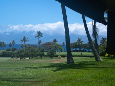 Photo for Stunning Golf Course View From the Inside, Postcard Ocean View From the Lanai!