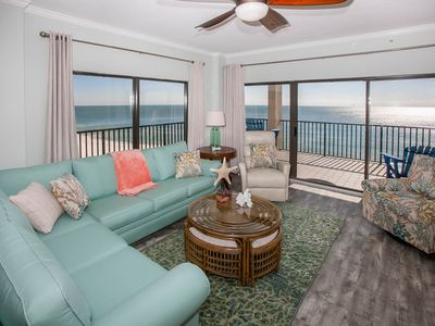 Photo for The Palms 911 -  Newly Decorated with Spectacular Views from Wrap Around Balcony