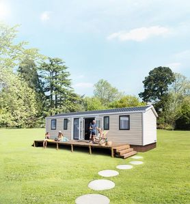 Photo for Camping La Cigaline *** - Mobile home New 5 rooms for 8 people