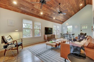 Living Area - Welcome to Austin! This house is professionally managed by TurnKey Vacation Rentals.
