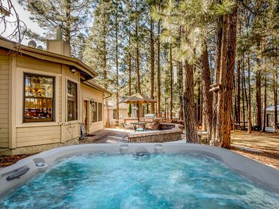 Photo for NEW LISTING! Family-friendly house w/hot tub & forest views-convenient location