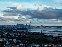 The apartment is gorgeous and has the best view in Auckland, looking...