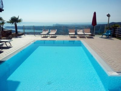 Photo for Luxury apartment in Villa with view on the lake and pool for your exlusive use