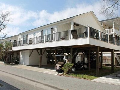 Photo for Beautiful 2 Bedroom Raised Beach House available in Ocean Lakes!