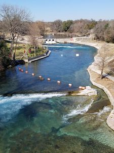 Photo for COMAL RIVERFRONT!  Schlitterbahn!  Walk to Downtown New Braunfels!