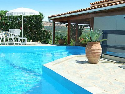 Photo for Modern family villa with pool close to the beach, reasonable rates