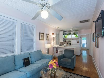 Photo for Dog-friendly Key West cottage with a private hot tub & an unbeatable location!