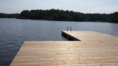 Relax on the expansive dock and enjoy the serenity...
