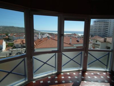 Photo for Wonderful sea view, bright nice apartment, 5 minutes walk to the beach