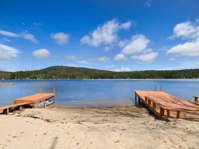 Photo for Complete Relaxation Lakeside- feel totally away10min to town, 20min to Gunstock!