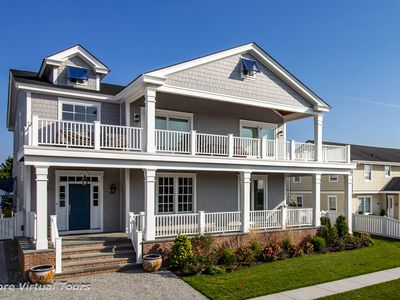 Photo for Welcome to paradise in Southern Stone Harbor.  Unobstructed southwestern wetland and bay views abound from this 4,000 s.f. 6 Bedroom, 6 Full Bath,