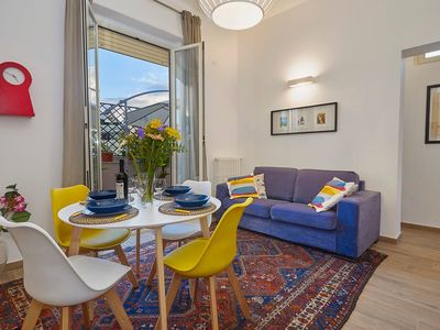 Photo for Central and bright penthouse at the Teatro Massimo
