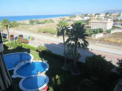 Photo for Super air conditioned sea view apartment.