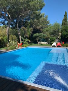 Photo for Beautiful villa St Raphael with new pool, 2 steps from the sea!
