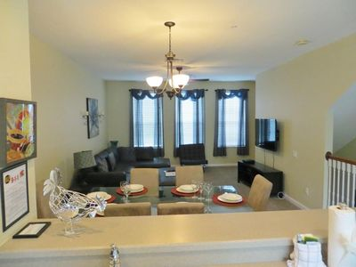 Photo for Townhome for 6 with Gourmet Kitchen, Balcony and PRIVATE GARAGE