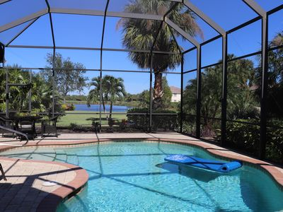 Photo for Miromar Lakes - Luxurious Private Pool Home