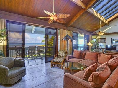Photo for Come enjoy an Ocean Front condo at Kahana Outrigger 3 bd rm in West Maui Hawaii