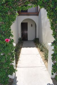 Beautifully Landscaped entry!