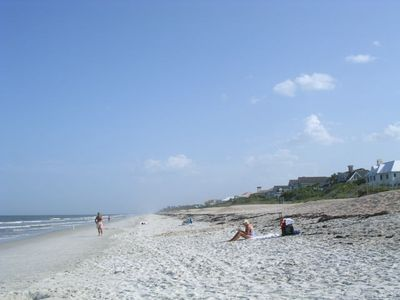 Ponte Vedra Beach - it's private, quiet and just the place to relax.