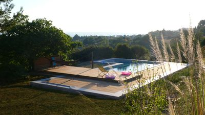 Photo for Rent T2 32 m², garden and pool in the countryside 6 km from Aix-en-Pce.